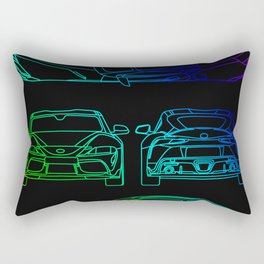 GR Supra Mk 5 Rectangular Pillow