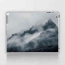 Fog Amongst The Cliffs Laptop & iPad Skin