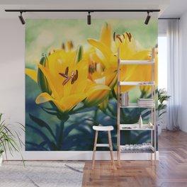 Summer Lilies II Wall Mural