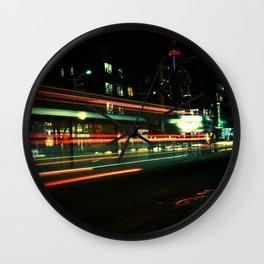 Faster than streetcar Wall Clock