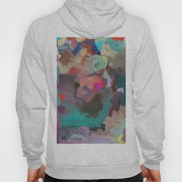 Colorful Abstract Textures Hoody