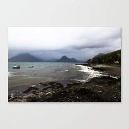 Elgol Scotland - Stormy Seas Canvas Print