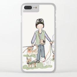 Heel Clear iPhone Case
