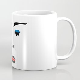 Portrait Minalist Dada Bahaus Coffee Mug