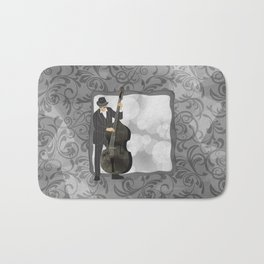 Double Bass Bath Mat