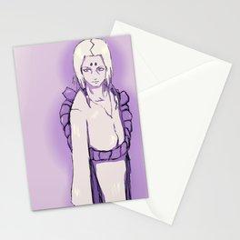 紫 の 君麻呂 (kimimaro in purple) Stationery Cards