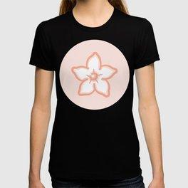 Cute Waxflower Pattern T-shirt