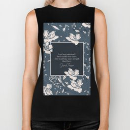 I can bear pain myself but I couldna bear yours... Jamie Fraser Biker Tank