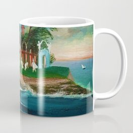 Storm on the Mysterious Island by Tivadar Csontváry Kosztka Coffee Mug