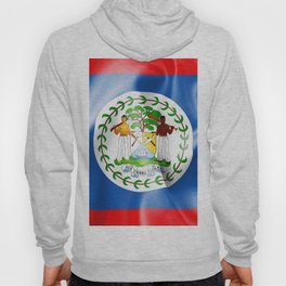 Belize Flag Hoody
