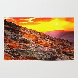 Mount Evans Rug