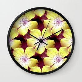 Summery Yellow.... Wall Clock