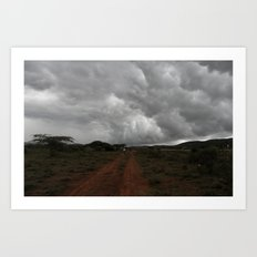 Storm Awaits Art Print