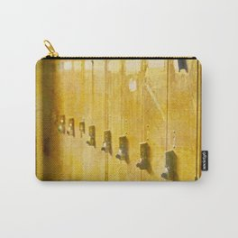 Old Orange Lockers Carry-All Pouch