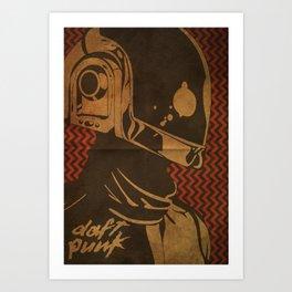 Daft Punk Guy-Manuel II Art Print