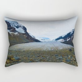Columbia Icefields in Jasper National Park, Canada Rectangular Pillow