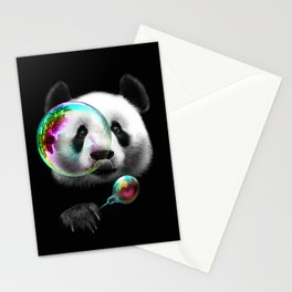 PANDA BUBLEMAKER Stationery Cards