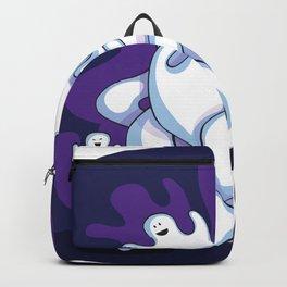 ghost spooky halloween horror dark Backpack