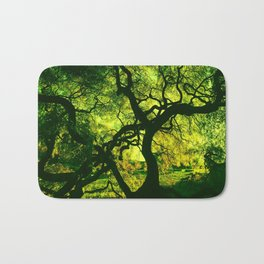 Green is the Tree Bath Mat