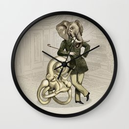 Eustachi the sculptor Wall Clock