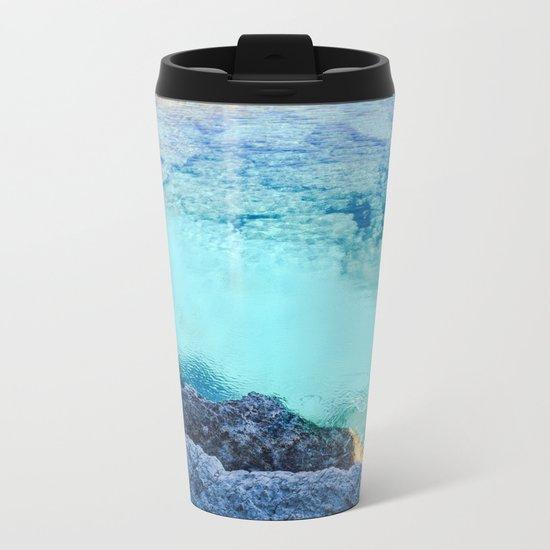 Cyprus Sea I Metal Travel Mug