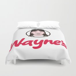 Wayne's Single #1 Duvet Cover