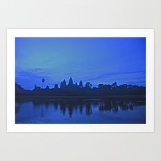 Angkor Wat at Sunrise Art Print
