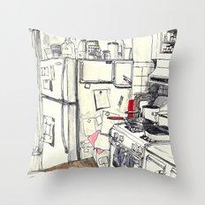 Brooklyn Kitchen, 2016 Throw Pillow