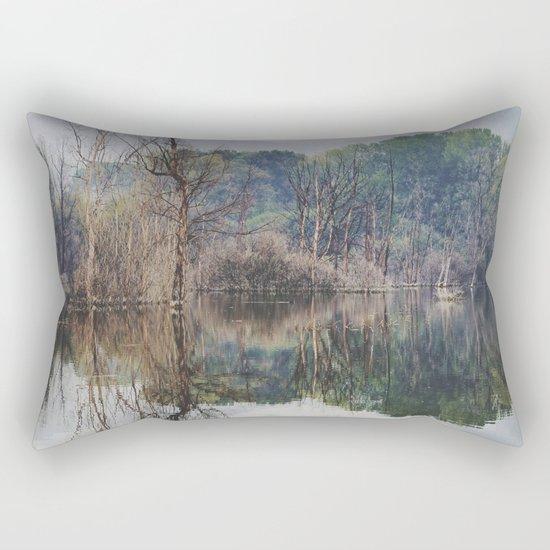 Mammoth paradise Rectangular Pillow