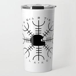 Inferno Art Studio Logo Travel Mug