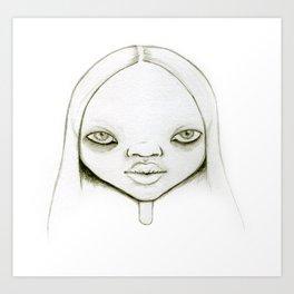 Amadela Art Print