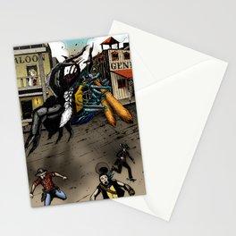 Tarantula vs. Tarantula Hawk Stationery Cards