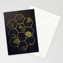 Bees in Space Stationery Cards