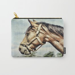 Horse Profile Carry-All Pouch
