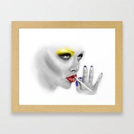 + DARKEST PLACE + Framed Art Print