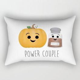 Pumpkin + Spice = Power Couple Rectangular Pillow