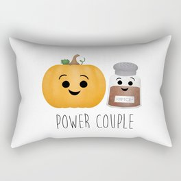 Pumpkin + Spice = Power Couple Rectangular Pillow