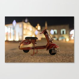 Little Cars, Big Planet (Let's Ride) Canvas Print