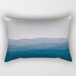 North Georgia Mountains 8 Rectangular Pillow