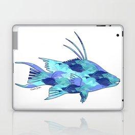 Blue Camouflage Hogfish Laptop & iPad Skin