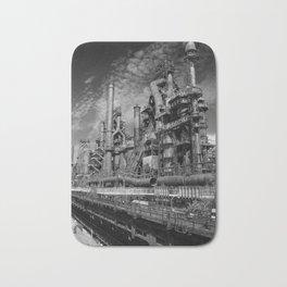 Bethlehem Steel Blast Furnace 9 Bath Mat