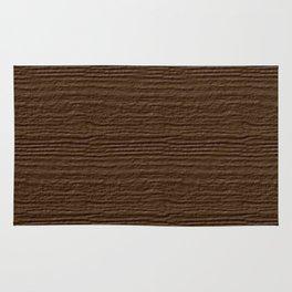 Sepia Wood Grain Color Accent Rug