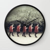 army Wall Clocks featuring Baby army by josemanuelerre