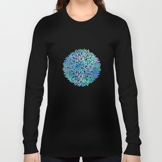 Petal Burst #8 Long Sleeve T-shirt