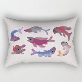 Salmon Rectangular Pillow