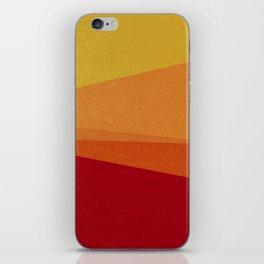 Stripe X Orange Peel iPhone Skin