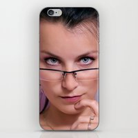 teacher iPhone & iPod Skins featuring Teacher by Karel Stepanek