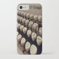 writer iPhone & iPod Cases featuring Type Writer by Chelsea Gibson