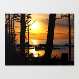 Olympic National Park Sunset Canvas Print