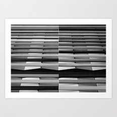 Intersections 1 Art Print